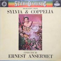 Ernest Ansermet – Highlights From Sylvia & Coppelia - Vinyl LP London CS 6185