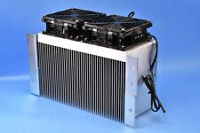 "Ametek Rotron Two-Fan Heat Sink Exchanger 10.5"" x 6"" Active Area. Huge!"