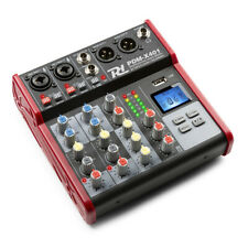 More details for power dynamics pdm-x401 music mixer 4-ch with bluetooth / usb mp3