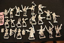 NECROMUNDA eschers Gang 20 figurines warhammer 40k games workshop Metal GW