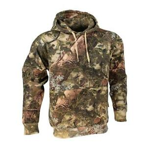 KING'S Camo Mountain Shadow Men's 2XL Cotton Long Sleeve Pullover Hoodie KCB115