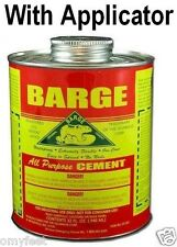Barge Cement Rubber Glue Leather Vinyl Rubber Boots Shoe Sole Repair 1 Quart
