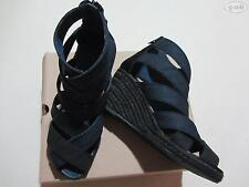 Levi's® Jeans Sandale Schuhe Gr. 40 NEU ! elegant & sexy, Keilabsatz, Denim-blau