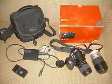 Sony α (alpha) DSLR-A100 10.2 MP Digital SLR Camera Kit 2 lenses
