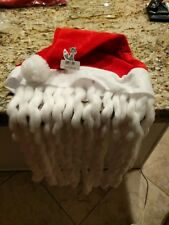 Christmas Santa Hat Cap Novelty Red and White NEW