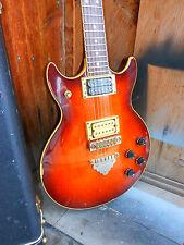 1979 Vintage Ibanez Artist Sunburst Set Neck DiMario PU Maple Top Japan Quality