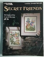 """""""Secret Friends� La2458, 4 Pages, Pretty Fairy Patterns, Gently Used"""