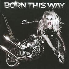 Born This Way * by Lady Gaga (CD, May-2011, Cherrytree/Interscope Records)