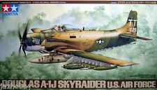 Tamiya 61073 1/48 Scale Model Aircraft Kit U.S.Air Force Douglas A-1J Skyraider