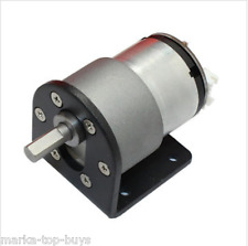 DC 12v 320rpm encode Gear reductor Bodine motor Electric Gear Box motor