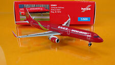 "Herpa Wings 529891  Juneyao Airlines Airbus A321 Reg.: "" B-1872 "" Scale 1/500"