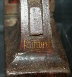 Cast Iron Embossing Stamp/Press-Rufforth