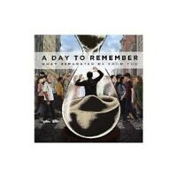 """A DAY TO REMEMBER """"WHAT SEPARATES ME FROM YOU""""  VINYL LP NEW+"""