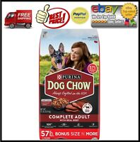 Purina Dog Chow Complete Adult Beef Dry Dog Food (57 lbs.)