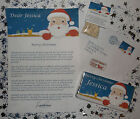 Personalised Letter from Santa With Envelope Reindeer Dust, Christmas Gift Kids