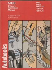 MG MGB MK2 GT COUPE & ROADSTER ( 1969 - 1975 ) OWNERS WORKSHOP MANUAL