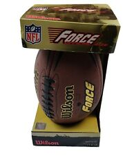 NEW Wilson football NFL Force official size  American Football in box 2006