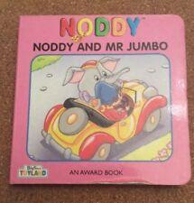 Children's Noddy And Mr Jumbo + The Market Square, Lost 3x Small Board Books