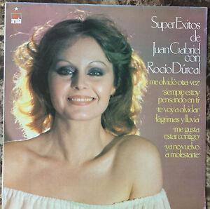 ROCIO DURCAL -SUPER EXITOS DE JUAN GABRIEL- 1979 MEXICAN LP LATIN POP