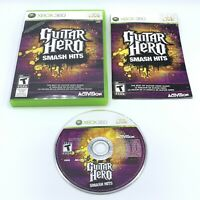Guitar Hero Smash Hits (Microsoft XBOX 360) Complete With Manual CIB