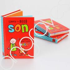 Gift Set of 3 Mini Simply the Best Son Notepads
