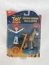 NEW! VTG 2000 Toy Story 2 Jessie Rides Bullseye Collectible Figures Rare HTF