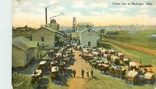 Oklahoma, OK, Muskogee, Cotton Gin 1910's Postcard