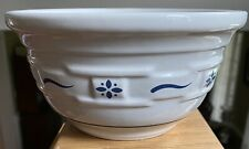 """Longaberger Woven Traditions Blue 6 1/2"""" Mixing Bowl"""