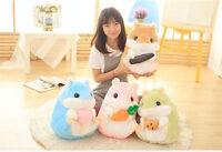 New Animal Hamster Soft Plush Toy Stuffed Pillow Doll Kid Birthday Gift Handmade