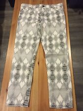 NWT / $148 ~ SANCTUARY Printed Skinny Mohave Charmer / Size 32