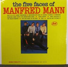 Manfred Mann  Ascot 13018  Five Faces of Manfred Mann  Pop Rock  R&B  Very Clean