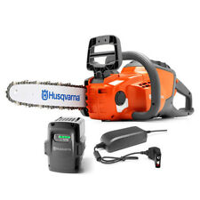 "New Husqvarna 120i Battery Powered Cordless Electric Chainsaw 36.5V 14"" Bar"