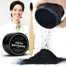 Naturel Bambou Charbon Actif Poudre des Dents Blanchiment Dentaire Brosse à dent