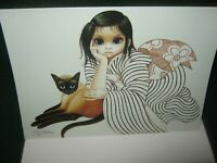 "BIG EYES 1981 Margaret Keane ""LADIES IN WAITING"" Greeting Card/New w/Envelope"