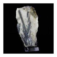 Stibnite + Calcite. 6023.5 CT (1.2 kg) . Montauto, Tuscany, Italy