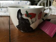 Portobello By Inspire LG Coffee CUP SCOTTISH TERRIER HAPPY HOLIDAYS CHRISTMAS NE