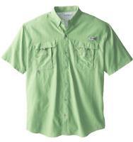 NEW Columbia PFG Bahama II Omni-Shade Vented Short Sleeve Shirt Key West 2XT