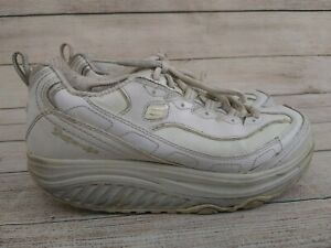 Skechers Shape Ups Walking Shoes Women Size 7.5 Athletic Shoes 11800 - White -