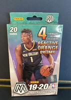 2019-2020 Panini Mosaic NBA Basketball Hanger Box Orange Prizms Sealed Zion Ja
