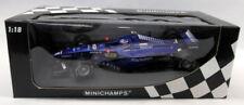 Voitures de courses miniatures bleus pour Peugeot 1:18