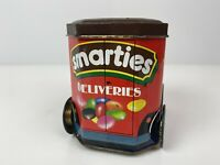 Smarties Tin Deliveries Vintage Collectible Delivery Truck