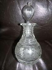 Art Nouveau Antique Original Etched Glass