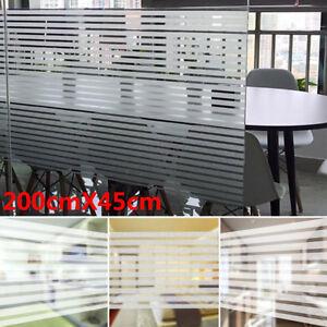 2M x 45CM Bathroom Window Home Privacy Waterproof Frosted Glass Film Sticker