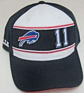 NFL Buffalo Bills Multi-Color Drew Bledsoe Structured Adjustable Hat By Reebok