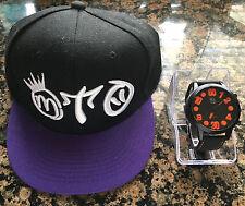 Miguelito's New Hot Fashion Snapback Hats Baseball Cap Adjustable and Watch