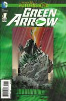 Futures End Green Arrow #1 3D Cover Unread New Near Mint New 52 DC 2014 LBX3