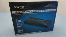 Sabrent 5-Port HDMI Switch 1080P w/Remote Control (5D)
