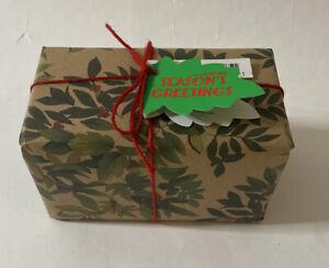Lush Cosmetics Season Greetings Gift Set Unopened Snowcake Soap & Dream Cream