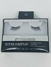 Sonia Kashuk Feathered False Eyelashes 1pair New latex free glue