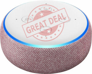 Amazon Echo Dot 3rd Generation with Alexa Voice Smart Speaker PLUM - FREE SHIP